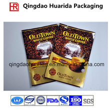 Plastic Coffee T-Seal Packaging Pouch/Tea Bag with Colorful Printing