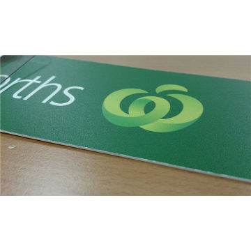 Flatbed Screen Printing On Acrylic Sign Board