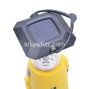 Solar Camp Light Hand-Operated Electric Emergency Light