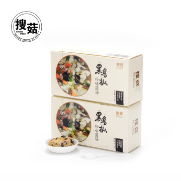 Concentrated mushrooms egg mushroom soup for students