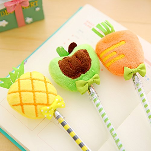 Plush Fruit Gel Pen 1