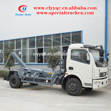Camión de basura DongFeng con bastidor extraíble