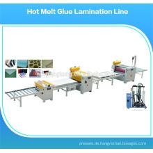 Laminatwalzmaschine / Heißschmelzbeschichtungsmaschine / Heißschmelzklebstoffspender