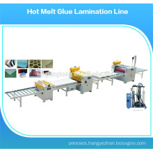 Laminate roller machine / hot melt coating machine / hot melt glue dispenser