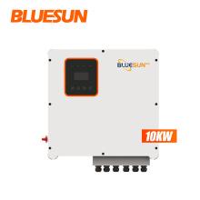 BLUESUN high output 10kw solar hybrid inverter must hybrid solar 10kw  residential use 10kw hybrid solar inverter for sale