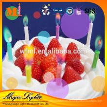 Bougies de flamme de couleur magique à vendre