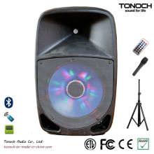 OEM ODM 12 Zoll Plastik DJ-Lautsprecher mit ausgezeichneter Leistung