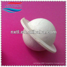 """25mm/1"""" Plastic hollow pvdf ball Covering ball with edge"""