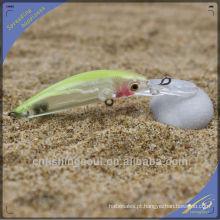 Mnl046 8cm / 3G plástico rígido atrair peixe preto minnow