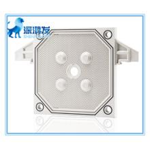 Plaque à membrane pour la séparation solide et liquide