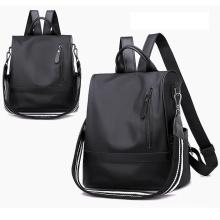 Wholesale custom trend waterproof mini classic leisure cute lady pu leather students backpack