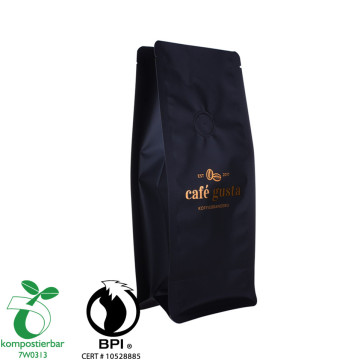 Bahan Laminated Round Bottom Cassava Starch Plastic Bag