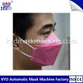 Fish Shaped Mask automática Earloop Welding Machine