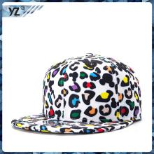 OEM высококачественные пользовательские леопард-печати snapback шляпы