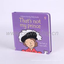 Impression enfants livre à couverture rigide