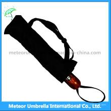 Promotion Printing Flower 3 parapluie automatique pliable pour hommes