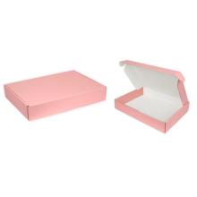 Luxury Rigid Cardboard Apparel Clothing Socks Packaging Shipping Box Custom Logo