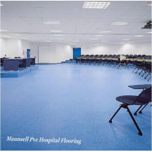 Homogeneous and PVC Floor for Medical and Laboratories Used Flooring