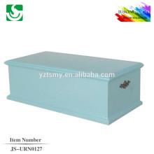 madera del animal doméstico ataúdes y urnas JS-URN127