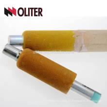 sonda de oxígeno de temperatura desechable de acero fundido de la industria de la fundición