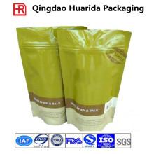 La categoría alimenticia se levanta bolsas de empaquetado plásticas del té / del café de Ziplock