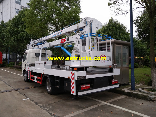 Telescopic Aerial Platform Vehicles