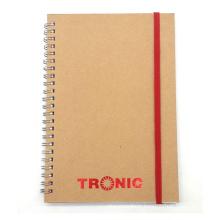 Togo Printing Kraft Cover Spiral Notebooks Paper Notebook Kraft