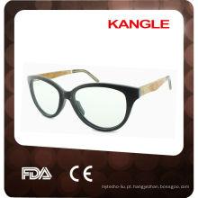 Óculos de sol de madeira com dobradiça