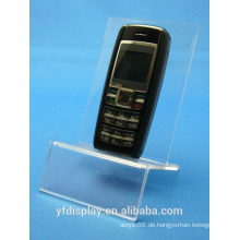 Maßgeschneiderte klaren Acryl Handy-Halter
