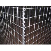 Hexagonal Gabion Barsbet Box / Galvanisierte geschweißte Gabion Box