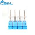 BFL China 2 Flöte Wolfram-Vollhartmetall-Langschaft-Schaftfräser, Fräser, Kugelkopffräser