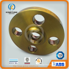 Carbon Steel A105n Sw Flange Forged Flange with Yellow Coating (KT0191)