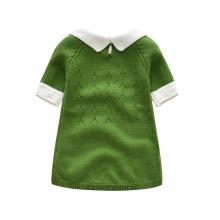 Вязаные платья детские для девочек
