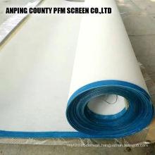 monofilament polyester linear plain weave wire mesh belt