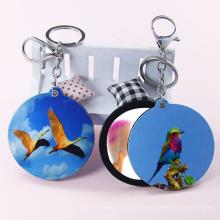 Fashion custom acrylic gift keychain advertising printing cartoon  animal souvenir  key chain