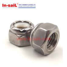 2016 Vente Chaude Chine Fournisseur Hex Nylon Insert Écrou Fabricant
