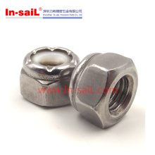2016 Hot Sale China Supplier Hex Nylon Insert Nut Manufacturer