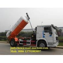 6M3 290hp howo Sewage Suction Truck