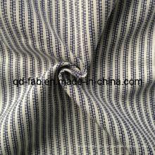 Algodón / Lino / Tejido teñido hilado polivinílico del hilado (QF13-0748)