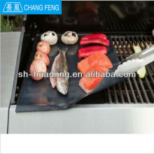 Non-stick heavy duty grill & BBQ mat ,Fit for all hotplate / grill/ weber BBQ , allow you cooking without oil or fat