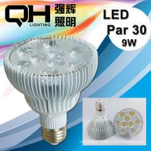 CE Approved 9w Led Par30 Light/lLed Par30 Lamp/Led Par30 Spotlight