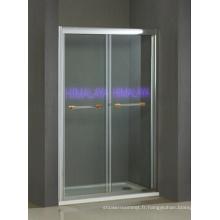 Porte de douche à fermeture amortie