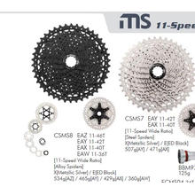 Roda livre 11 velocidade Cassette Csms8 11-42t