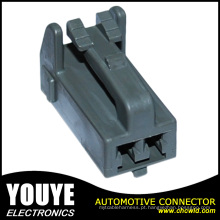 Ket Mg651201-4 PBT Unsealed Cinza 2 Pinos Tpa 2.3mm 090 Fêmea Auto Fio Cabo Conector