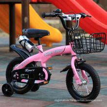 "12"" Steel Frame Children Bikes with Mudguard Kids Bike with Training Wheels"