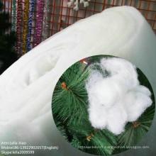 Flocage de neige en polyester à liaison thermique pour Noël Décroissance