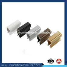 Perfil de alumínio guarda-roupa