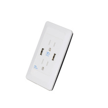 Prise murale double USB 5V 2A