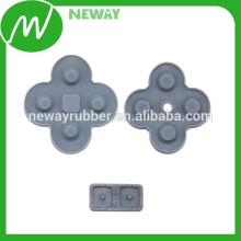 Fácil de usar directamente en la fábrica Personalizar Tapa de goma conductora de primera calidad