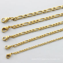 Fabricant de porcelaine, 2014 collier en or de mode pour hommes